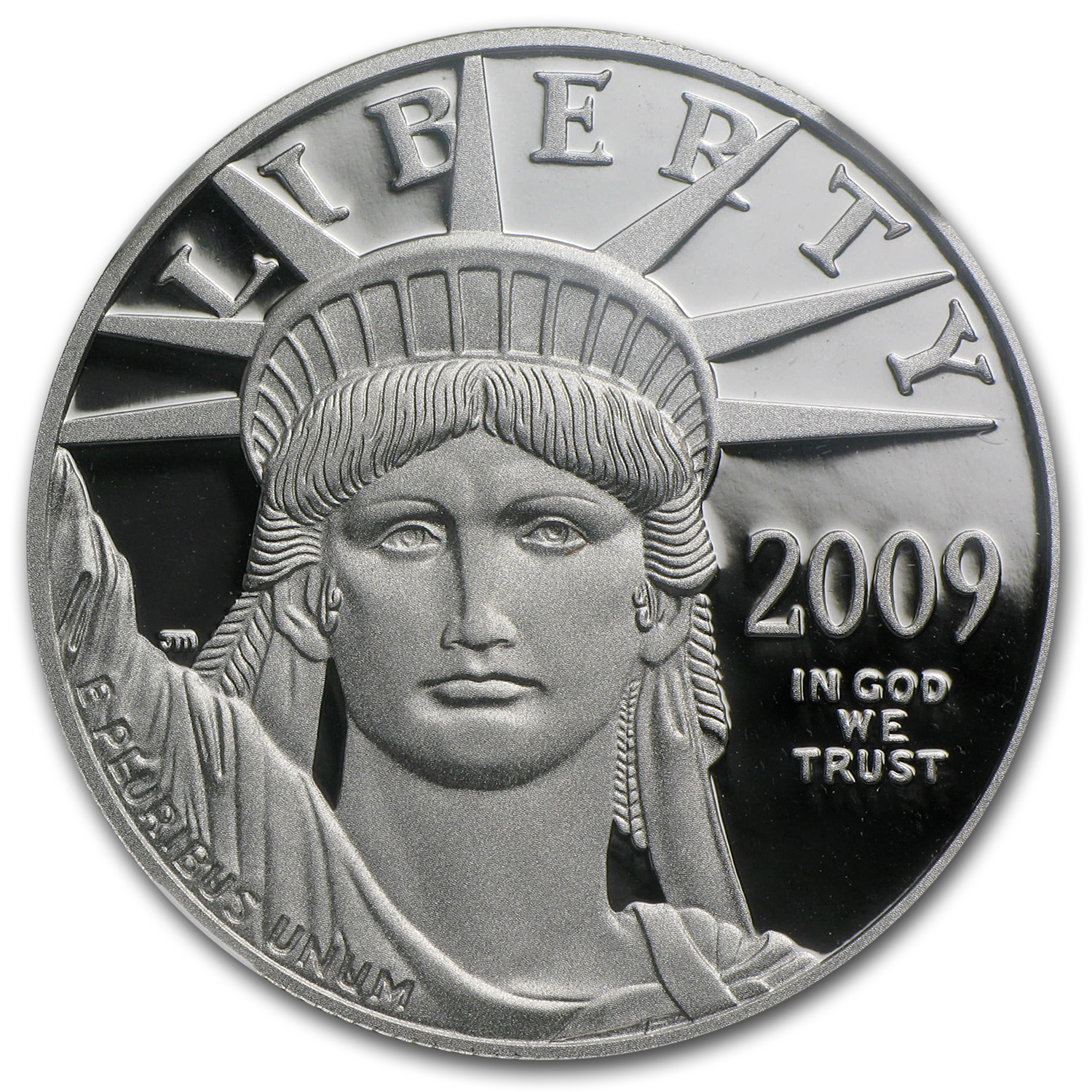2009-W 1 oz Proof Platinum American Eagle PF-70 UCAM NGC